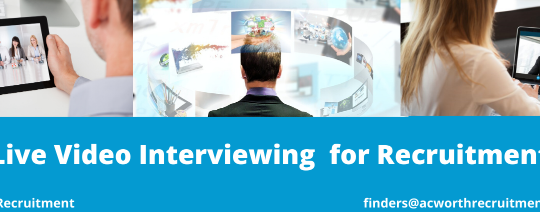 Live Video Interviewing for Recruitment