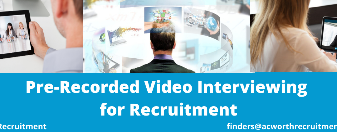 Pre-Recorded Video Interviewing for Recruitment