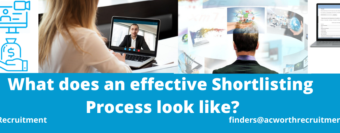 "What does an effective ""Outsourced"" Shortlisting Process look like?"
