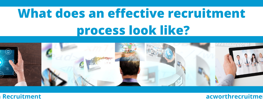 What does an effective recruitment process look like?