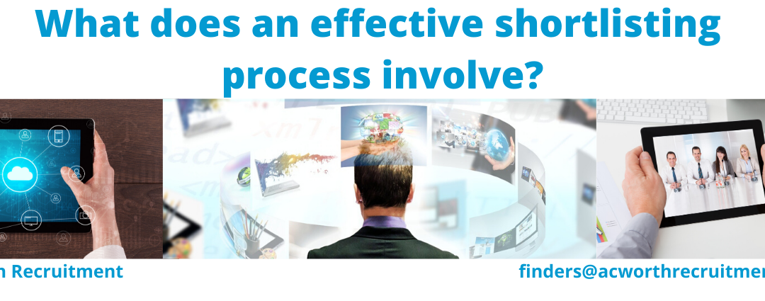 What does an effective Shortlisting Process involve?
