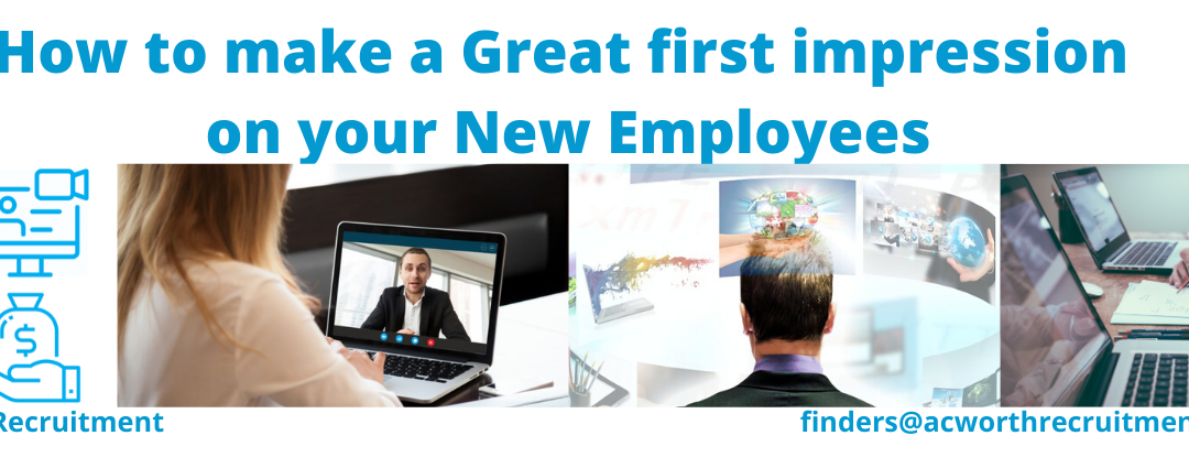 How to make a Great first impression on your New Employees